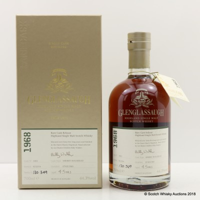 Glenglassaugh 1968 45 Year Old Rare Cask Release