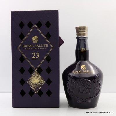 Chivas Royal Salute 23 Year Old Taiwan Exclusive
