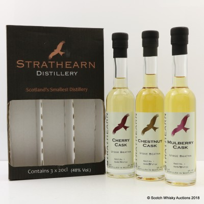 Strathearn Distillery Collection 3 x 20cl