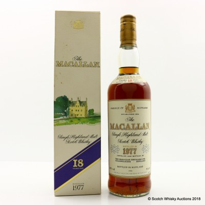 Macallan 18 Year Old 1977 Selected For Bank Of Scotland