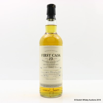 Ardmore 1990 19 Year Old First Cask