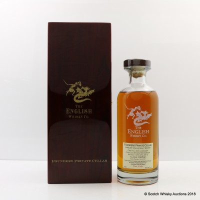 English Whisky Co 2007 Single Port Cask Founders Private Cellar