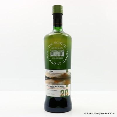 SMWS 3.299 Bowmore 20 Year Old Feis Ile 2017