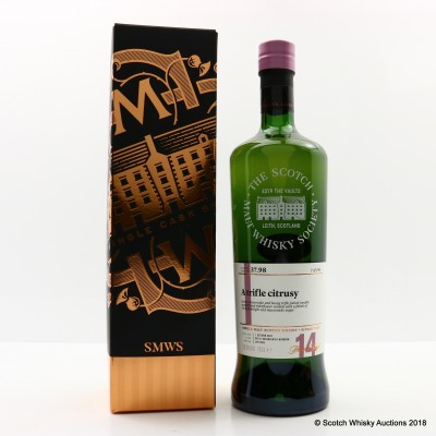 SMWS 37.98 Cragganmore 2002 14 Year Old