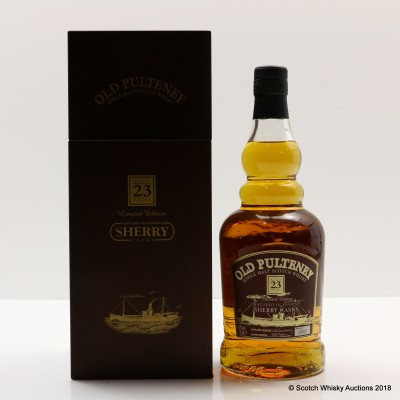 Old Pulteney 23 Year Old Sherry Matured Limited Edition