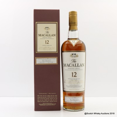 Macallan 12 Year Old First 100 Bottles