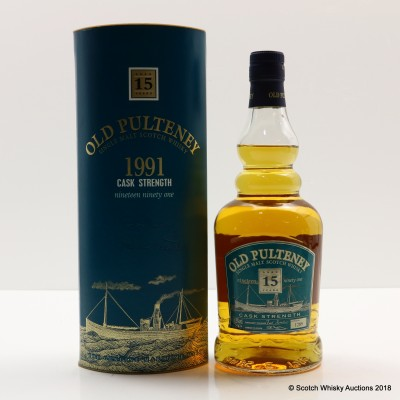 Old Pulteney 1991 15 Year Old Cask Strength