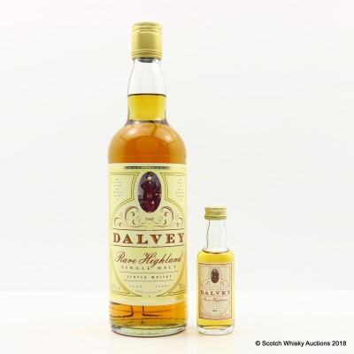 Dalvey 10 Year Old & Matching Mini 5cl