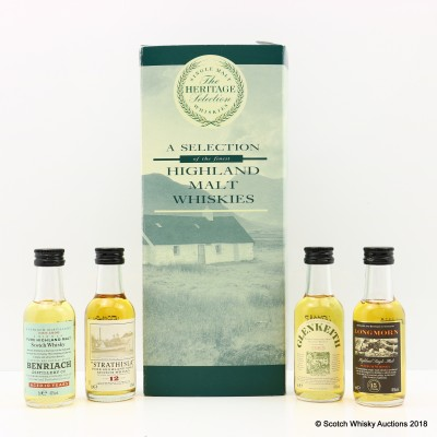 Heritage Selection Minis 4 x 5cl