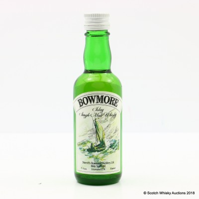 Bowmore Sherriff's Mini 1 2/3 Fl Ozs