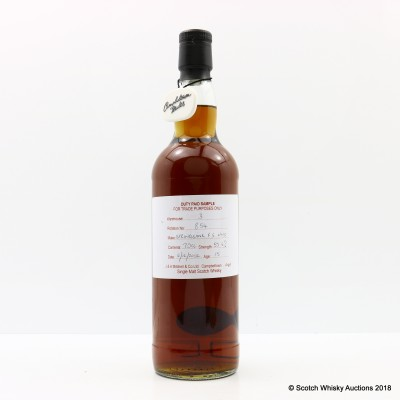 Springbank 2002 15 Year Old Duty Paid Sample