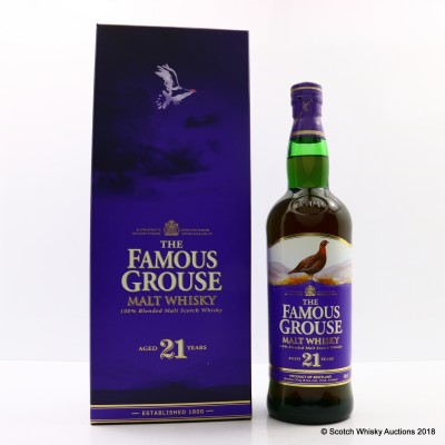 Famous Grouse 21 Year Old