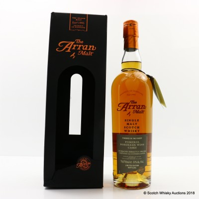 Arran Pomerol Bordeaux Wine Cask Finish