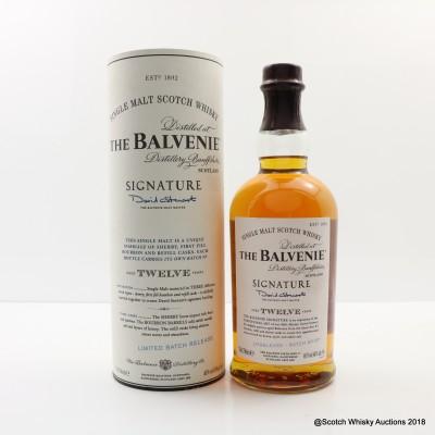 Balvenie 12 Year Old Signature Batch #1