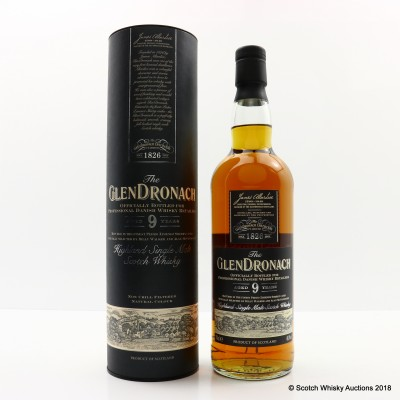 GlenDronach 9 Year Old 'Darth Vader' Danish Release