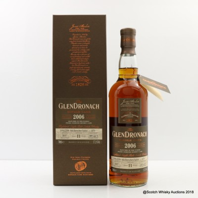 GlenDronach 2006 11 Year Old Single Cask #1979