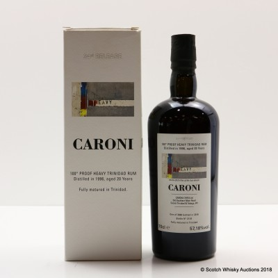 Caroni 1996 20 Year Old Heavy Trinidad Rum 34th Release