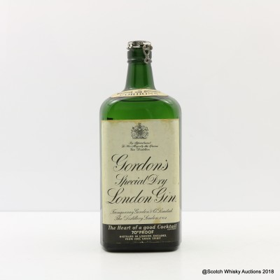 Gordon's Special Dry Gin Spring Cap