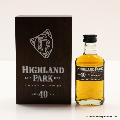 Highland Park 40 Year Old Mini 5cl