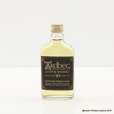 Ardbeg Guaranteed 10 Year Old Mini 5cl