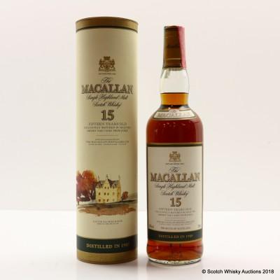 Macallan 15 Year Old 1985