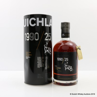 Bruichladdich 1990 25 Year Old Sherry Cask Edition