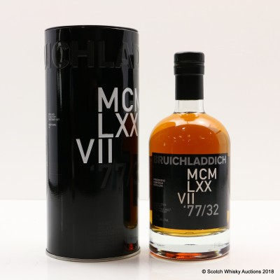 Bruichladdich 1977 32 Year Old DNA 2nd Edition