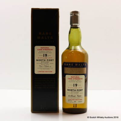 Rare Malts North Port 1979 19 Year Old 75cl