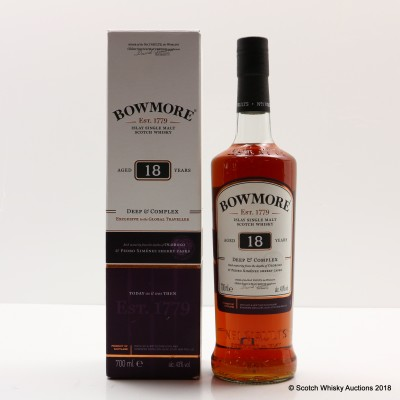 Bowmore 18 Year Old Travel Retail Exclusive