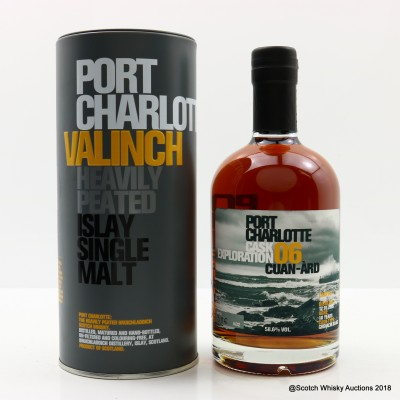 Port Charlotte Valinch 06 Cask Exploration Cuan-Ard 50cl