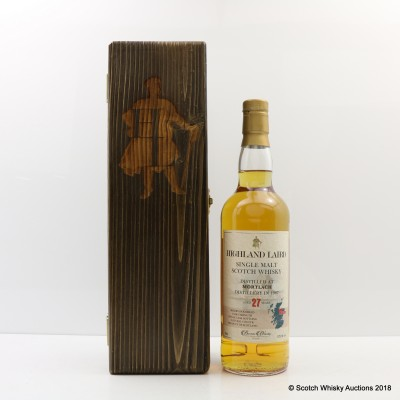 Mortlach 1987 27 Year Old Highland Laird