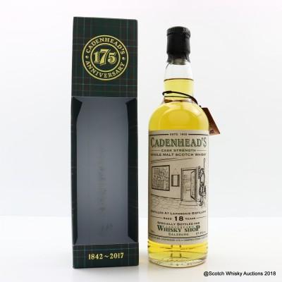 Laphroaig 1998 18 Year Old For Cadenhead's Whisky Shop Salzburg