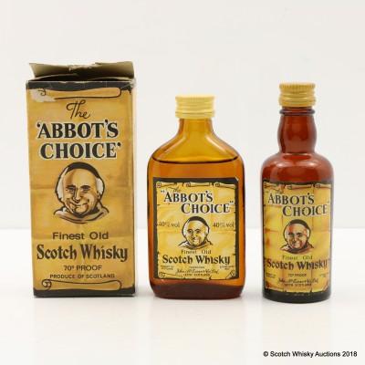 Abbot's Choice Minis 2 x 5cl