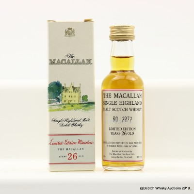 Macallan 1966 26 Year Old Mini 5cl