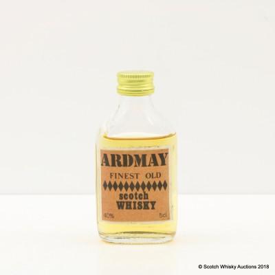 Ardmay Finest Old Scotch Whisky Mini 5cl