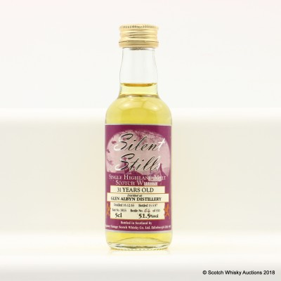 Glen Albyn 1965 31 Year Old Silent Stills Signatory Mini 5cl
