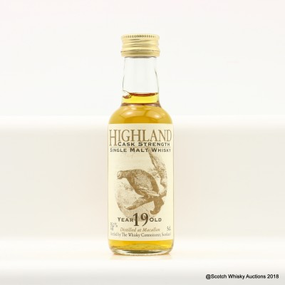 Macallan 19 Year Old Whisky Connoisseur Mini 5cl