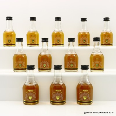 Bell's 21 Year Old Minis 12 x 5cl