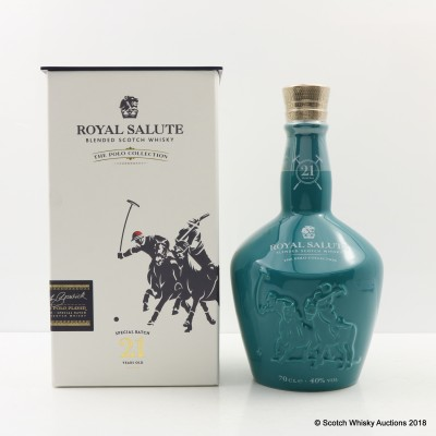 Chivas Royal Salute 21 Year Old The Polo Collection