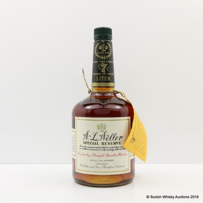 W.L Weller 7 Year Old Special Reserve 1L