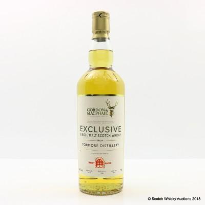 Tormore 1998 Gordon & MacPhail For Whisky Castle