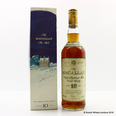 Macallan 10 Year Old Old Style Winter Limited Edition