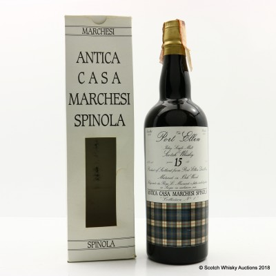 Port Ellen 1974 15 Year Old Marchesi Spinola 75cl