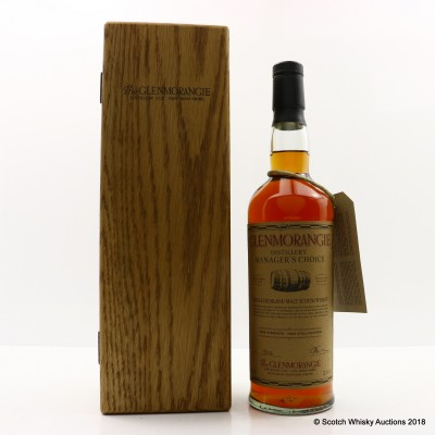 Glenmorangie 1987 Distillery Manager's Choice