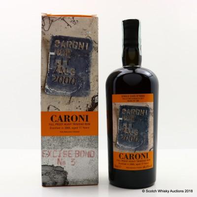 Caroni 2000 17 Year Old Rum