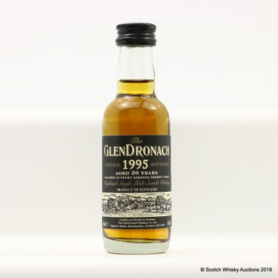 GlenDronach 1995 20 Year Old Mini 5cl