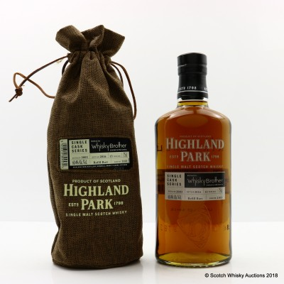 Highland Park 2003 13 Year Old Single Cask #2103 For Whisky Brother 75cl