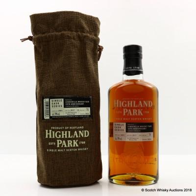 Highland Park 2003 14 Year Old Single Cask #3824 For Cinderella Whisky Fair 10th Anniversary