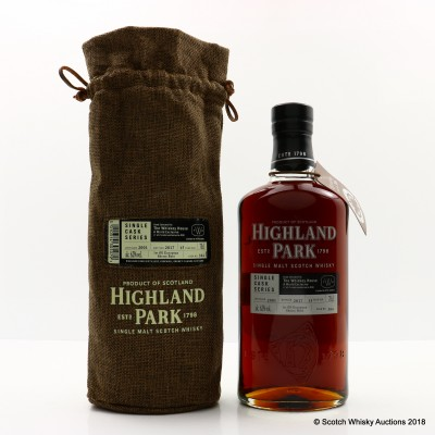 Highland Park 2001 15 Year Old Single Cask #384 for The Whiskey House