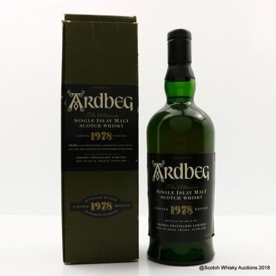 Ardbeg 1978 1997 Release